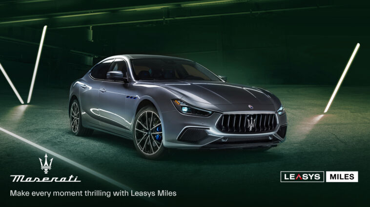 Leasys Miles Maserati