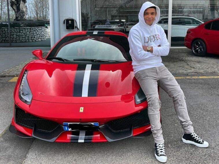 Luis Muriel Ferrari F8 Tributo