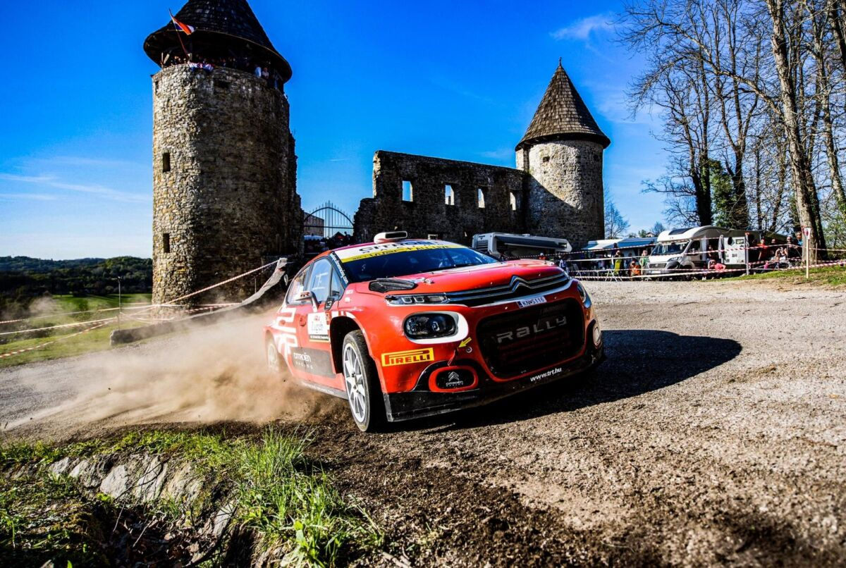 Mads Ostberg Rally della Croazia Citroën C3 Rally2