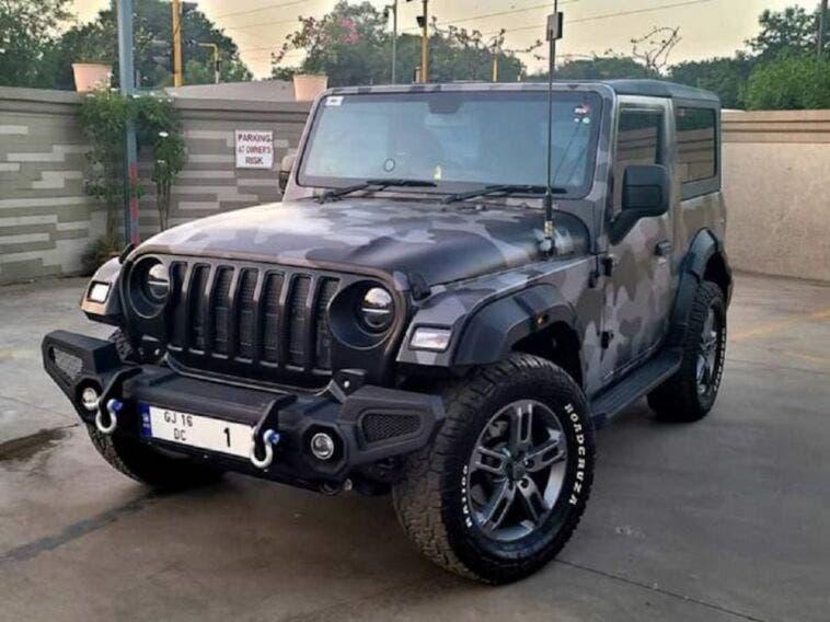 Mahindra Thar Jeep Wrangler