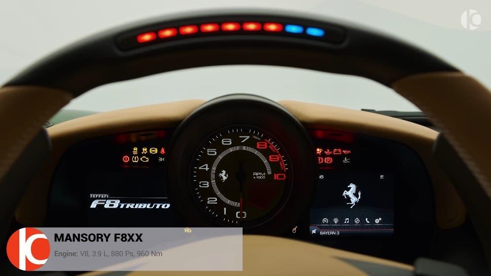 Mansory F8XX Ferrari F8 Tributo RoCars