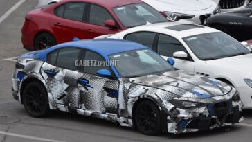 Maserati GranTurismo 2022 altro prototipo