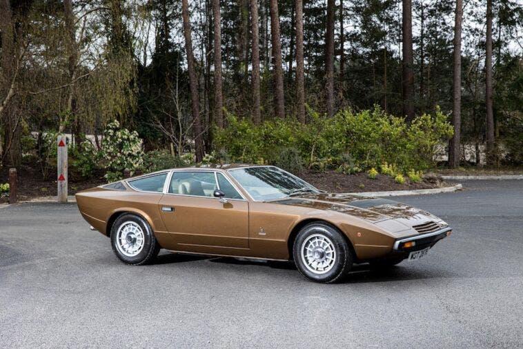 Maserati Khamsin 1977 asta Bonhams