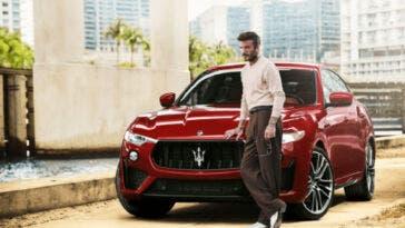 Maserati e David Beckham
