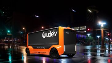 Mobileye Udelv The Transporter