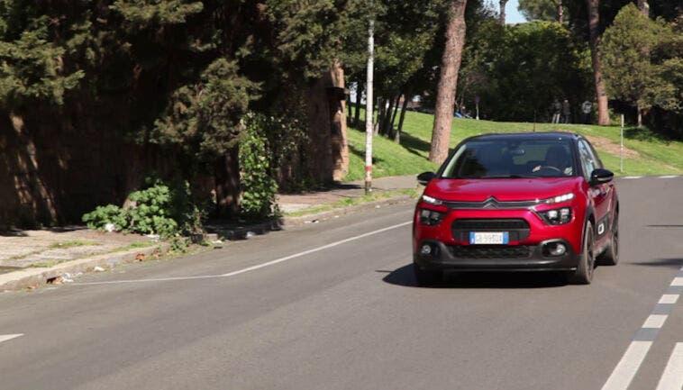 Nuova Citroën C3 tecnologia comfort
