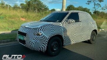 Nuova Citroën C3 ultime foto spia