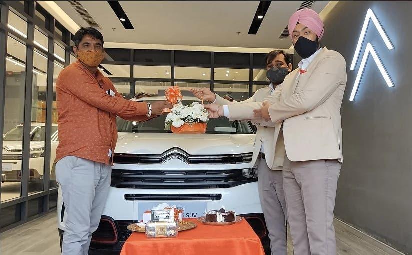 Nuova Citroën C5 Aircross consegne India