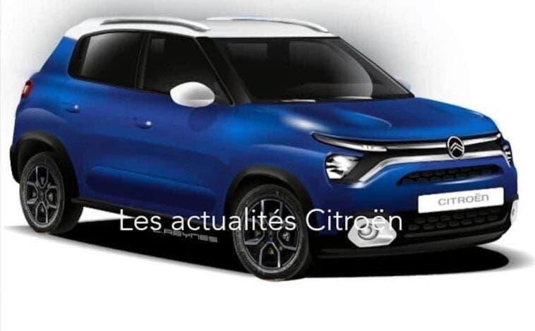 Nuova Citroën CC21 render