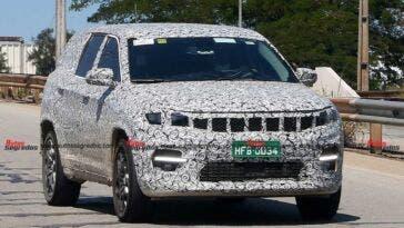 Nuova Jeep a sette posti foto spia
