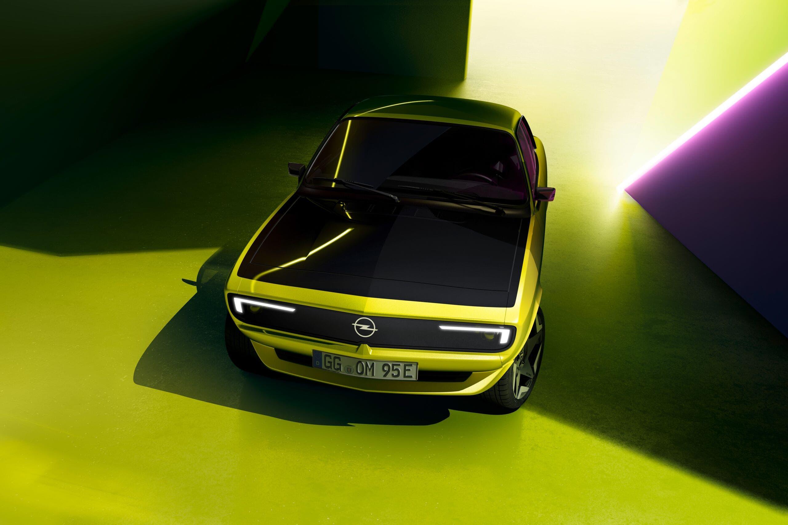 Nuova Opel Manta GSe ElektroMOD frontale