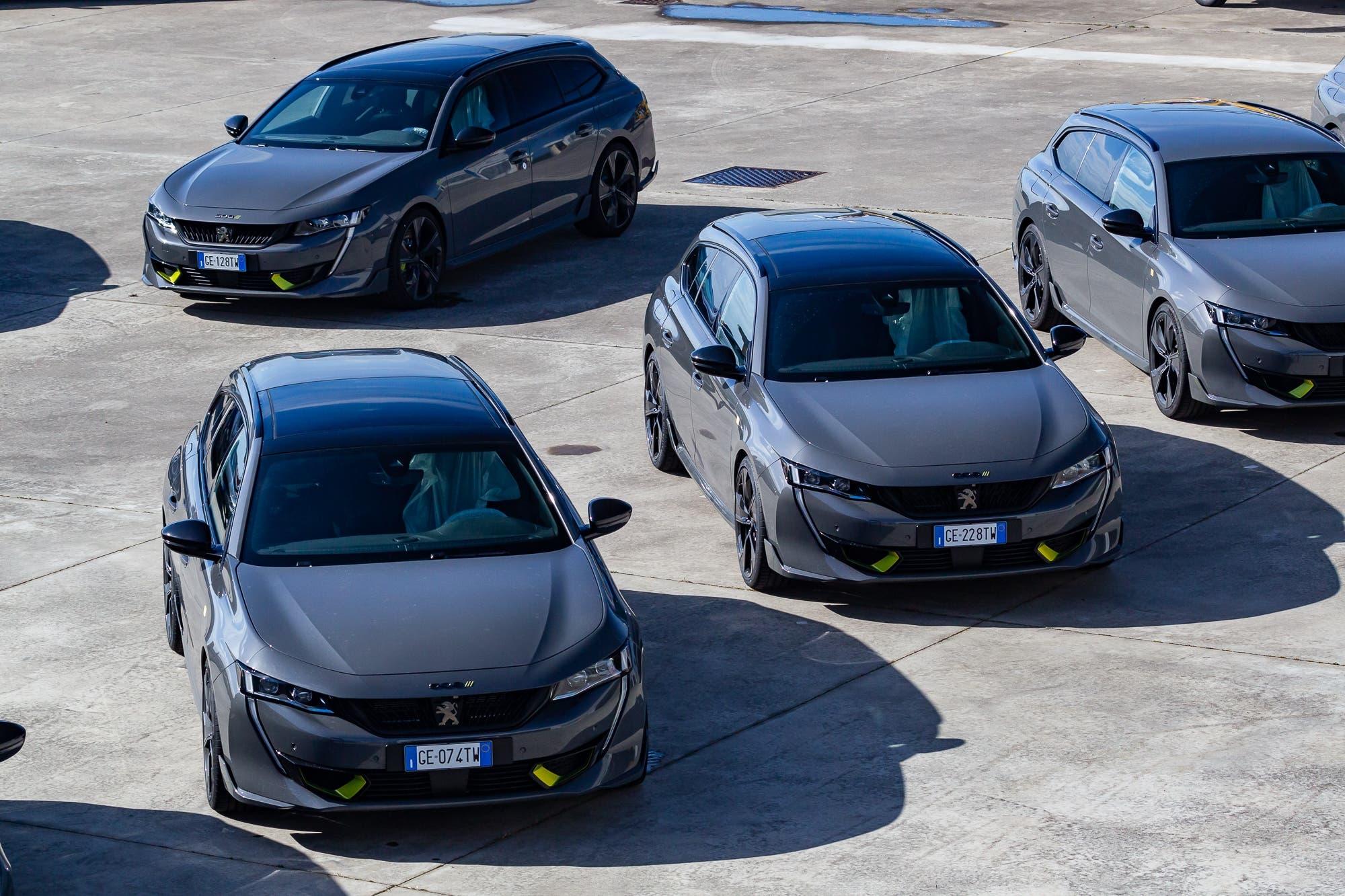 Nuova Peugeot 508 PSE Expertise Center