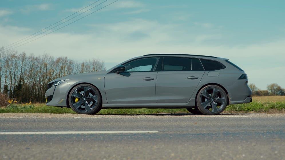 Nuova Peugeot 508 PSE Wagon rivale Audi