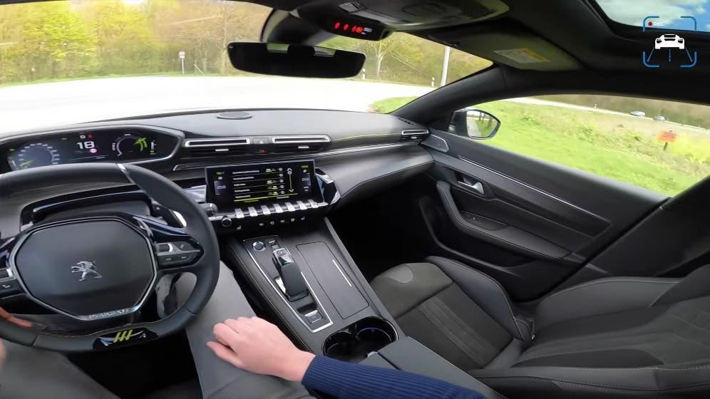 Nuova Peugeot 508 PSE test drive