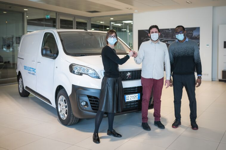 Nuovo Peugeot e-Expert Slow Sud