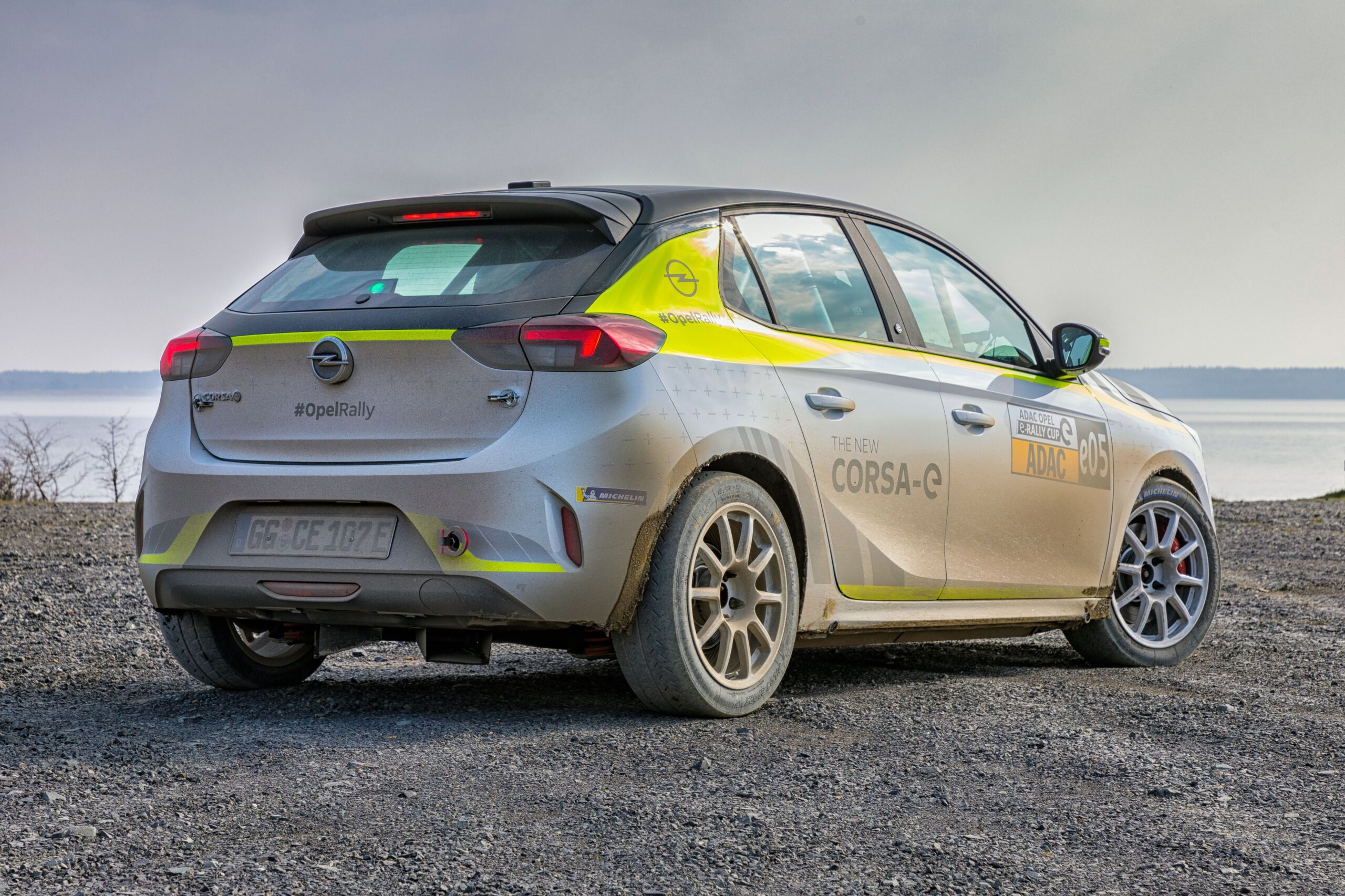Opel Corsa-e Rally sistema audio