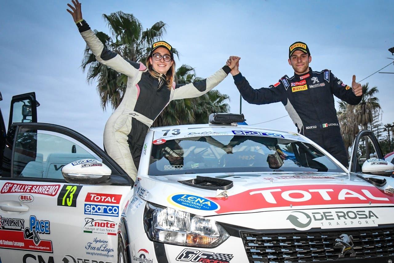 Peugeot 208 Rally 4 Rally Sanremo