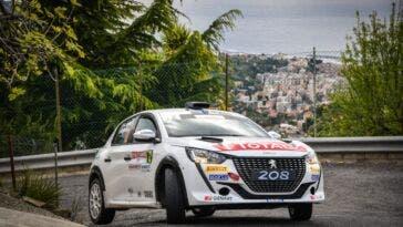Peugeot 208 Rally 4 Rally di Sanremo