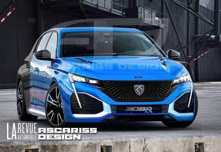 Peugeot 308 PSE Ascariss Design render