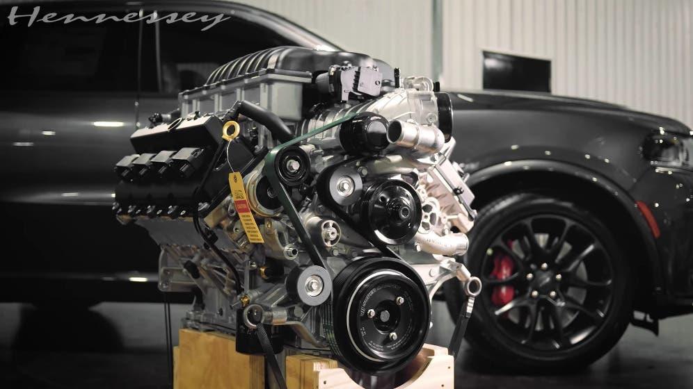 Ram 1500 TRX Dodge Durango SRT Hellcat motore Hellephant