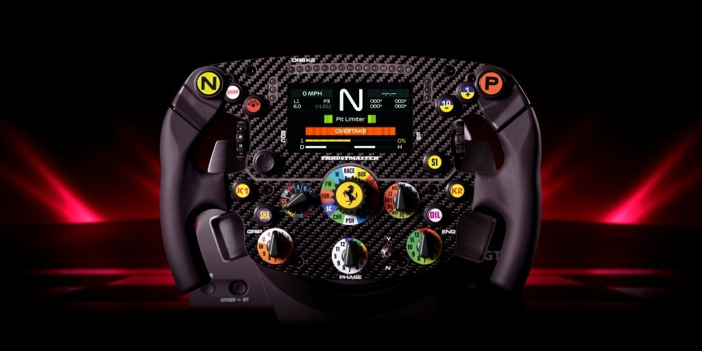Thrustmaster nuovo volante Ferrari SF1000
