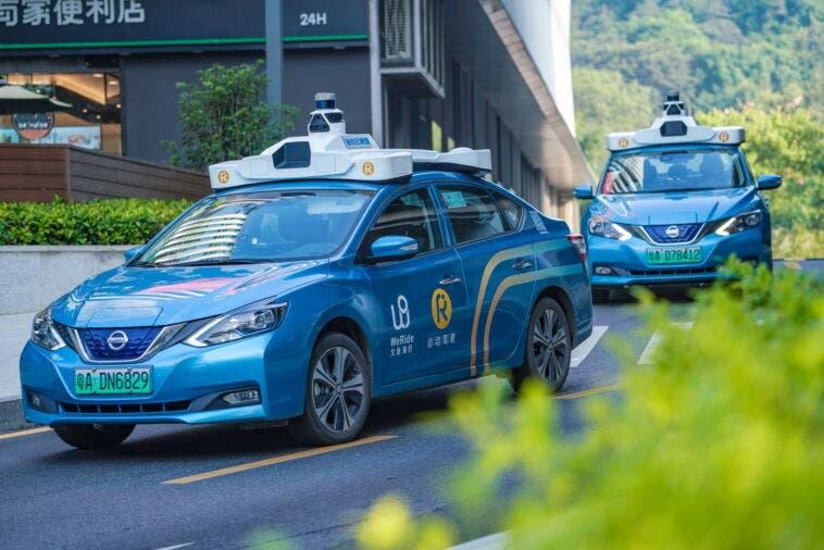 WeRide auto guida autonoma Stati Uniti