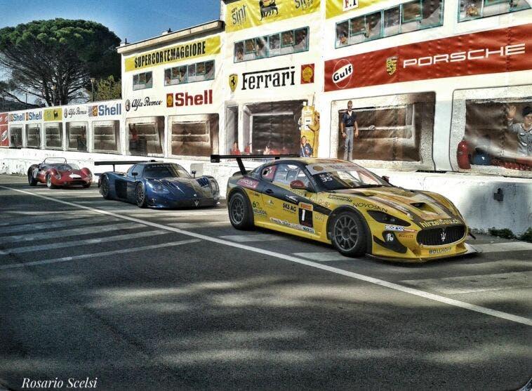 Maserati tribune Targa Florio