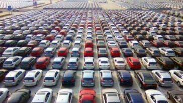mercato auto europeo in calo