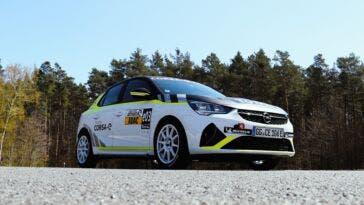 ADAC Opel e-Rally Cup Timo Scheider