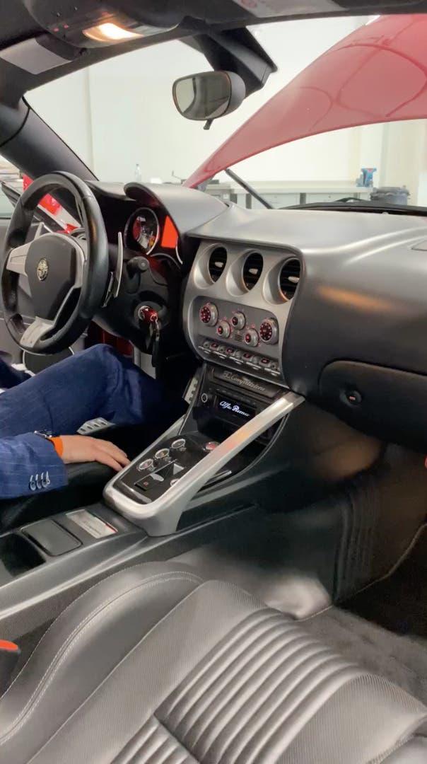 Alfa Romeo 8C Competizione Alessandro Gino