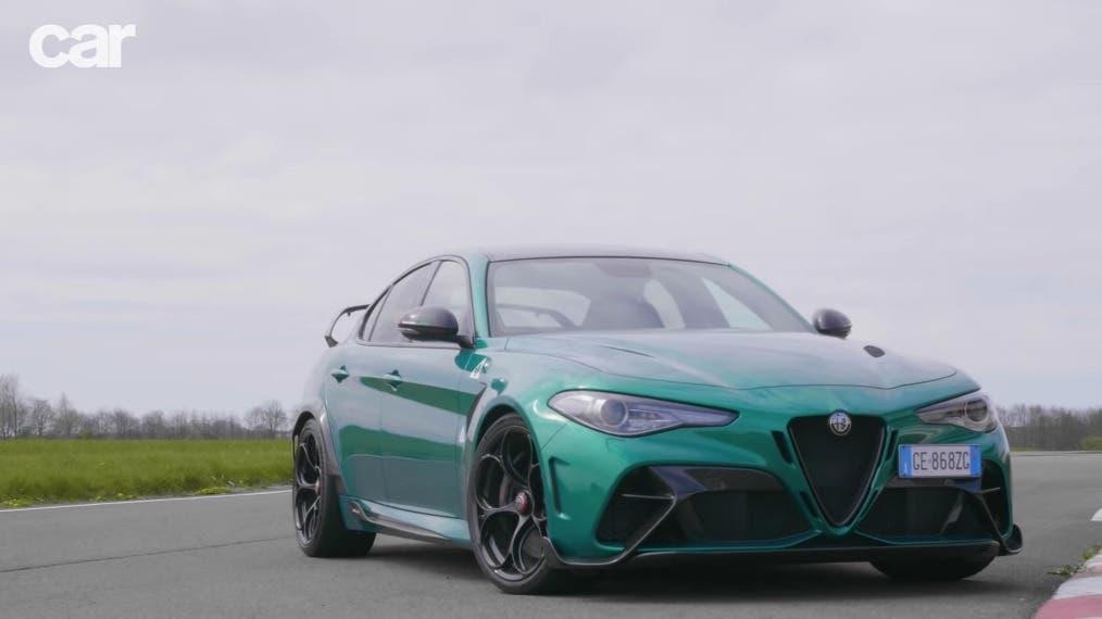 Alfa Romeo Giulia GTAm Regno Unito
