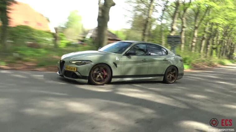 Alfa Romeo Giulia Quadrifoglio Paesi Bassi