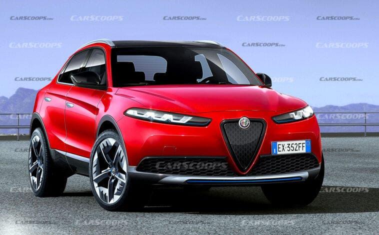 Alfa Romeo Palade render