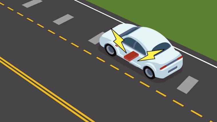 Auto elettriche sistema ricarica induzione strade
