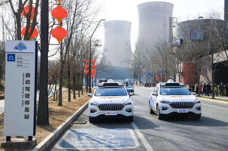 Baidu servizio ride-hailing Cina