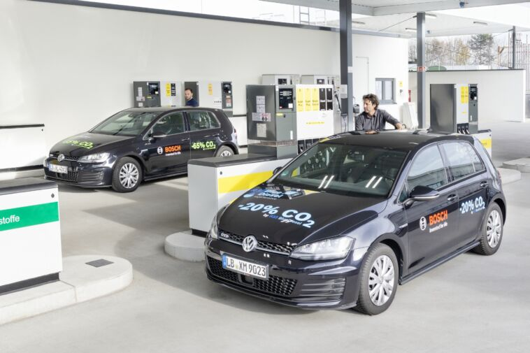 Bosch Shell Volkswagen benzina basse emissioni