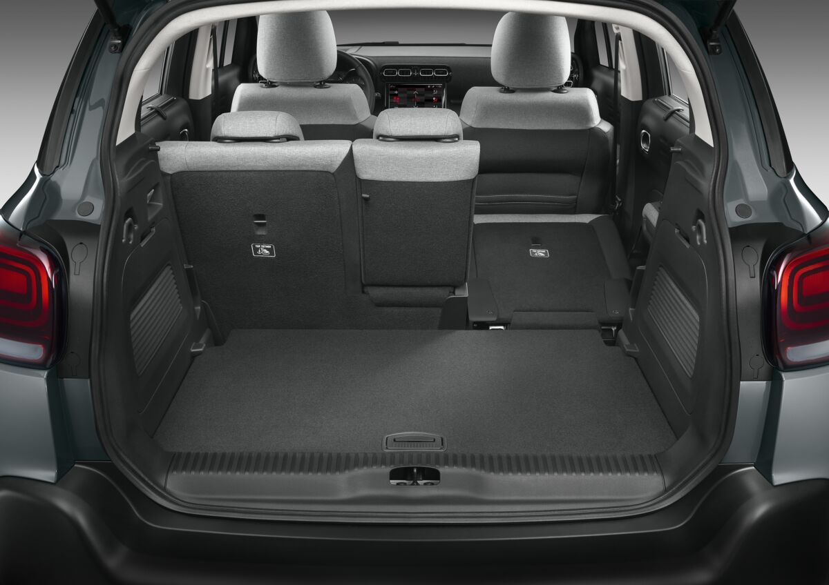 Citroën C3 Aircross abitabilità modularità