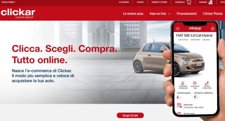 Comprare un'auto usata online