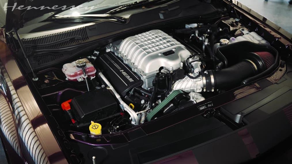 Dodge Challenger SRT Super Stock Hennessey HPE1000