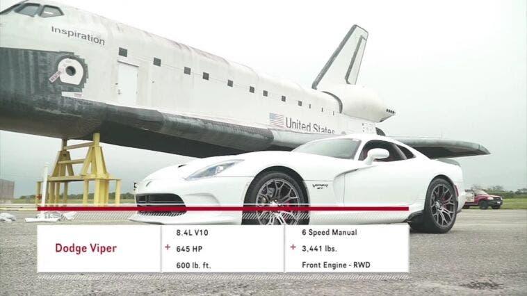 Dodge Viper 2015 test velocità
