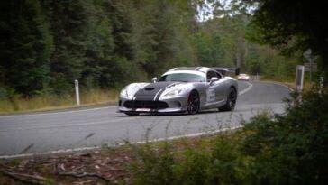 Dodge Viper ACR Targa Tasmania 2021