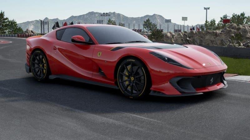Ferrari 812 Competizione cerchi Carbon Revolution
