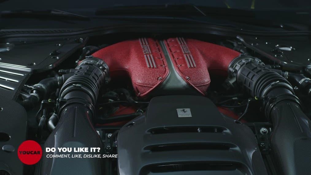 Ferrari 812 Competizione dettagli