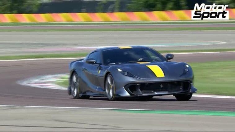 Ferrari 812 Competizione pista