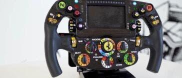 Ferrari Carlos Sainz volante Formula 1