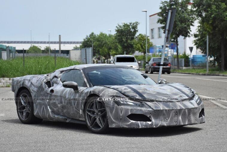 Ferrari F171 prototipo foto spia