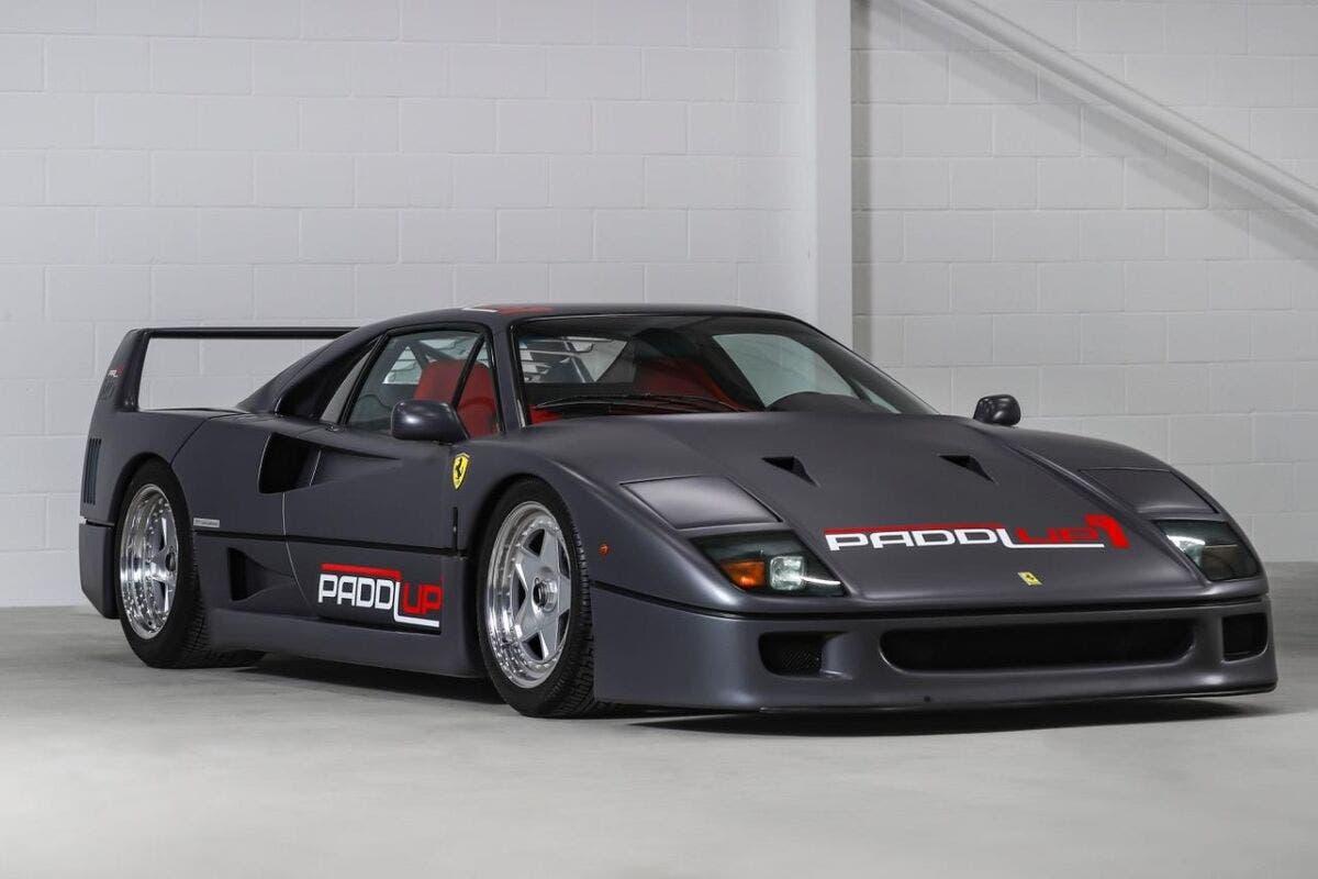 Ferrari F40 PaddlUp asta