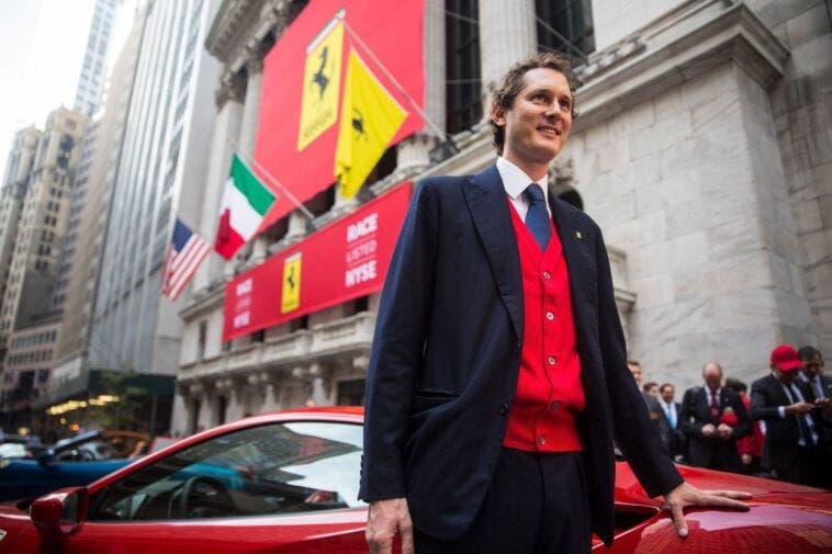 Ferrari - John Elkann