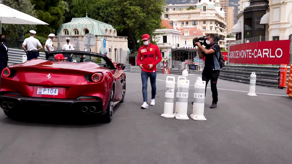 Ferrari Portofino M Leclerc Sainz Monaco
