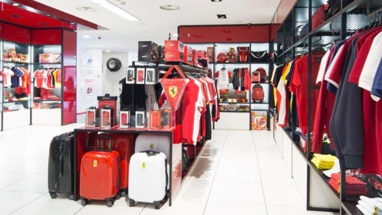Ferrari collezione di moda